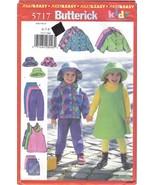 Butterick Pattern 5717 Girls' Jacket, Jumper, Skirt, Pants and Hat Sizes... - $6.99
