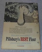 Pillsbury's Best 10th Grand National Bake Off Cookbook Recipes 1958 image 2
