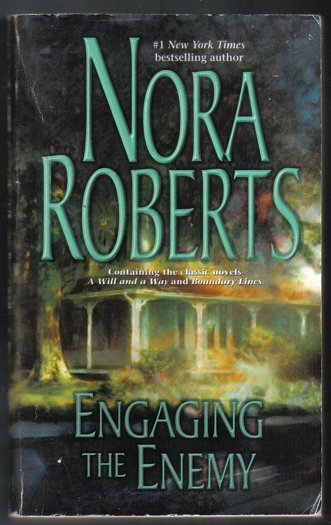 Nora Roberts 4 Novels in 2 Volumes Irish Rebel & Engaging the Enemy