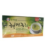 Surasang Korean Tea (Green Tea with Roasted Brown Rice, 1 Pack) 150 Tea ... - $24.74