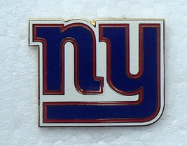 NEW YORK GIANTS free shipping LOGO  METAL FOOTBALL HAT CAP JERSEY PIN - $9.39