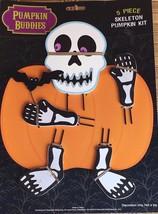 Pumpkin Buddies 5 Piece Skeleton Pumpkin Decorating Kit - $11.39