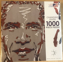 NEW President Obama 1000 Pc Puzzle Changing States #98803 Great American Puzzle - $17.09