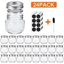 Glotoch Mason Jars 8OZ With Regular Lids and Bands, Ideal for Jam, Honey... - $37.98