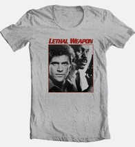 Lethal Weapon T shirt cool retro 80's movie tee Die Hard cotton graphic tee image 2