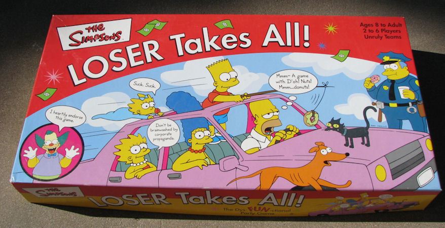Primary image for The Simpsons Loser Takes All Board Game