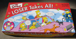 The Simpsons Loser Takes All Board Game image 1
