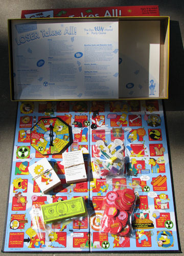 The Simpsons Loser Takes All Board Game image 2