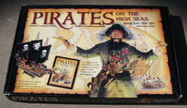 Pirates on the High Seas Book and Ship Set image 1