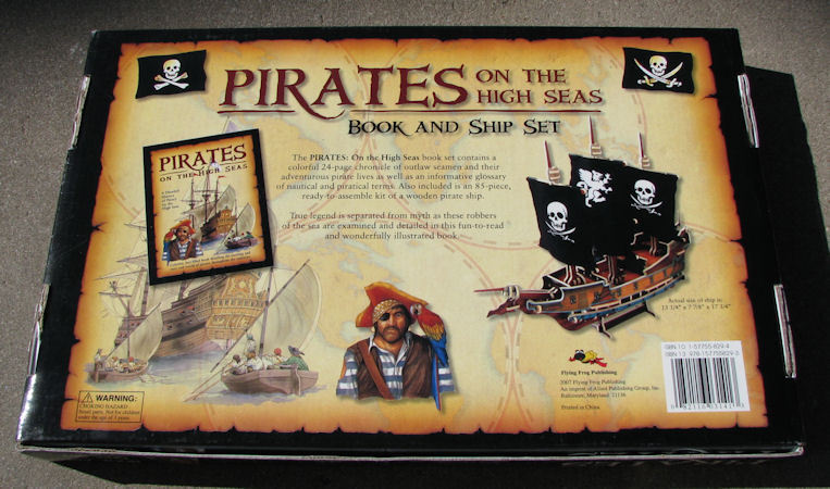 Pirates on the High Seas Book and Ship Set image 2