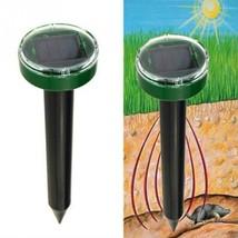 Solar Power Eco-Friendly Ultrasonic Gopher Mole Snake Mouse Yard Pest Re... - $9.64