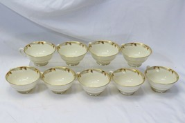 Lenox Essex Maroon Cups Lot of 9 - $48.99