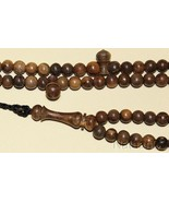 Islamic Tesbih 99 Beads V.Rare Paradise Wood OUD - Limited Special Offer 1 - $133.65