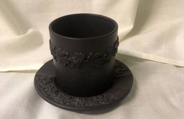 Black Wedgwood Cup And Saucer - $37.74