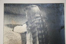 SILVER GELATIN PHOTOGRAPH A LITTLE GIRL PRAYING PHOTO image 2