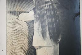 SILVER GELATIN PHOTOGRAPH A LITTLE GIRL PRAYING PHOTO image 3