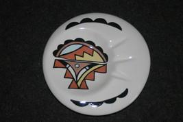 Tsosie Jemez Pueblo Ashtray Native American Hand Painted Southwest Art image 1