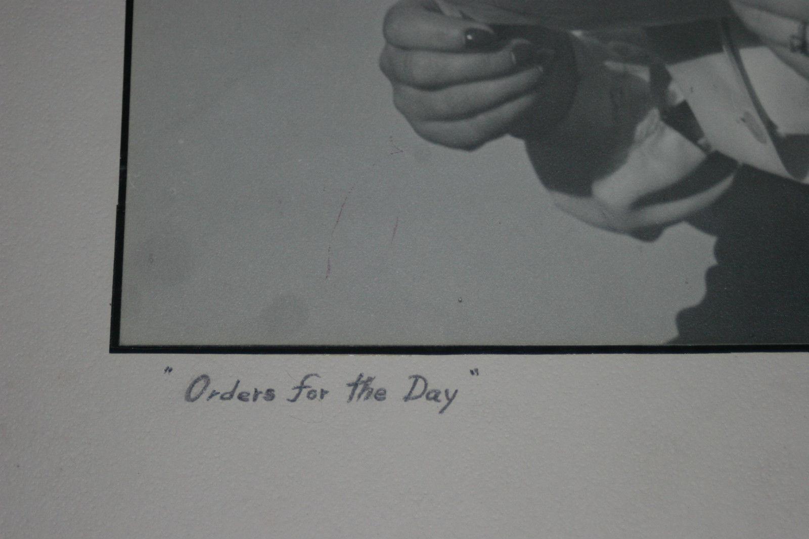 RED CROSS NURSE BLACK & WHITE SILVER GELATIN PHOTOGRAPH SIGNED GENE ALBERTS image 3