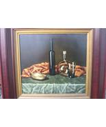"""""""Still Life With Retort"""" Vitally Grigoryev Russian Framed Canvas Print - $79.00"""
