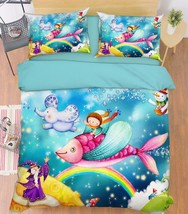 3D Dreamland 232 Bed Pillowcases Quilt Duvet Cover Set Single Queen King... - $90.04+