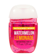 Bath & Body Works Pocketbac Hand Sanitizer Gel Watermelon Lemonade 1oz - $2.87