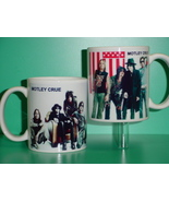 Motley Crue 2 Photo Designer Collectible Mug 02 - $14.95