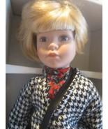 """Fine porcelain 17"""" dynasty dollblonde hair w/box """"DANIELLA""""MUSICAL I LOV... - $44.55"""
