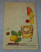 Vintage Fleischmann's Mixer Manual Liquor Cocktail Distiller image 2