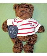 "19"" GUND American Eagle TEDDY BEAR Outfitters Striped Shirt Gym Bag Plus... - $22.44"
