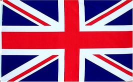 British Union Jack UK Great Britain Country Flag: 3x5ft poly - $5.47