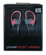 Beats Dr Dre Powerbeats2 2 Wireless Active Collection MKPY2AM/A Red Ear ... - $142.41