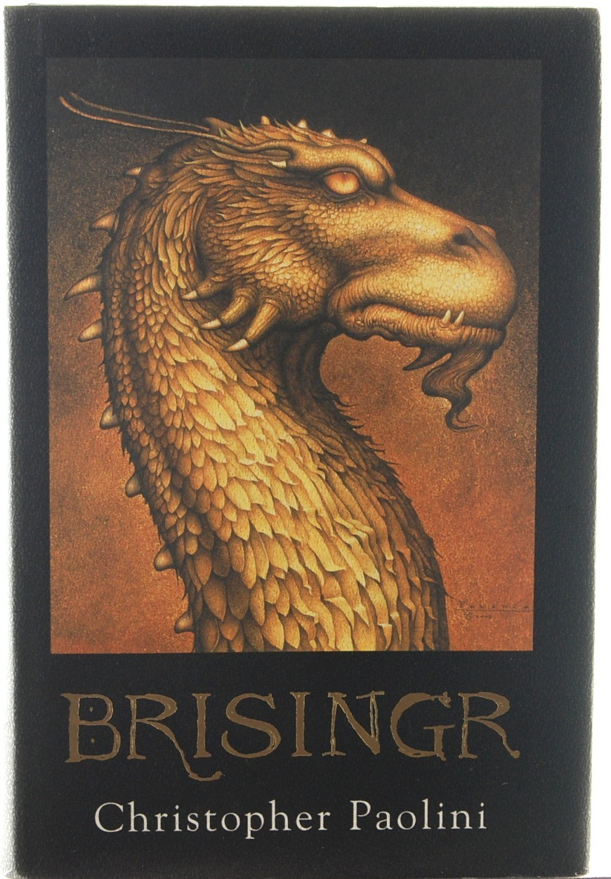 Brisingr Christopher Paolini Inheritance Bk 3 Eragon Dragon