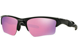 Oakley Sonnenbrille Halb Jacke XL 2.0 Poliert Schwarz Mit / Prisma Golf - $144.78
