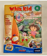 VTech Whiz Kid Learning System Dora the Explorer Educational Activities ... - $19.78