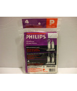 Philips Type P Replacement Vaccum Bags For Upright Vaccums - $7.92