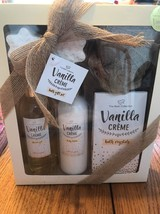 The Bath Collection Vanilla Crème Bath Gift Set Ships N 24h - $36.84