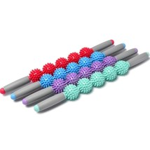 Akuan Muscle Roller Stick Yoga Spiky Ball Trigger Point Massage Fascia C... - £5.06 GBP+