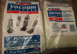 American Fare 2303 Hoover Up Right Type A Vacuum Cleaner Bags (Set of 2)... - $14.80