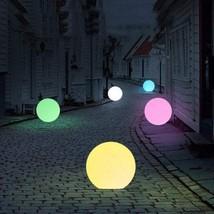 Outdoor & Garden Decor Multi Colour Solar Ball-Shaped Light - $35.83