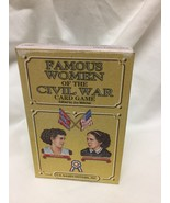 Famous Women of the Civil War Card Game - $7.92