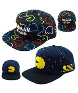 Pac Man Hat PACMAN Shape Little Ghost Game Baseball Snapback Caps Adjust... - $45.95