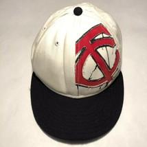 New Era Minnesota Twins Baseball TC Fitted Hat Size 7-1/4 - $11.95