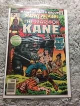 Marvel Premier: The Mark Of Kane #34 Roy Thomas/Howard Chaykin 1976 - $7.70