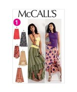 McCall's Pattern 6567 Misses Loose Fitting Skirts with Hem Variations Si... - $15.68