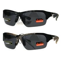 Polarized Xloop Hunters Camo Half Rim Sport Mens Sunglasses - $12.95