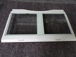DA97-04832A SAMSUNG REFRIGERATOR CRISPER COVER FRAME WITH GLASS - $100.00