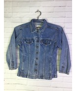 VTG Levis Orange Tab Boys Girls Kids Size 6X Snap Button Blue Denim Jean... - $39.59