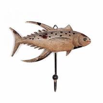 Metal Farmhouse Decorative Fish Wall Hook Coat Keys Apron Hook Wall Hanger