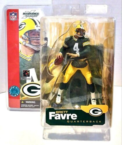 Primary image for 2002 McFarlane Sportspicks Brett Favre Green Bay Packers Green Jersey Figure
