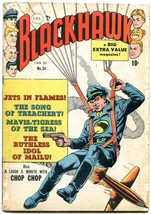 Blackhawk #34 1950- Canadian edition- Bell Features Chop Chop G - $63.05